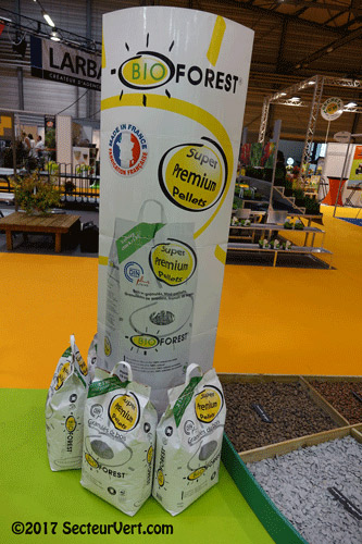 BIOLANDES-Pellets-Granules-Bois-Super-Premium-Bio Forest-PEFC-Pin-des-Landes-France-2017-SecteurVert