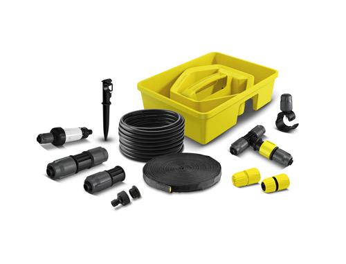 Savez vous que la rain box de k rcher est un set d for Accessoires pour le jardin